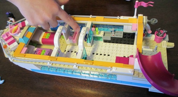 Gallery For Gt Lego Friends Dolphin Cruiser Inside